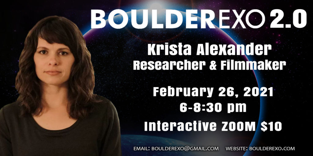 BoulderExo February presentation with Krista Alexander
